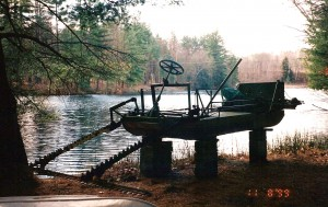 Weed cutter on Dream Lake 1999[1]